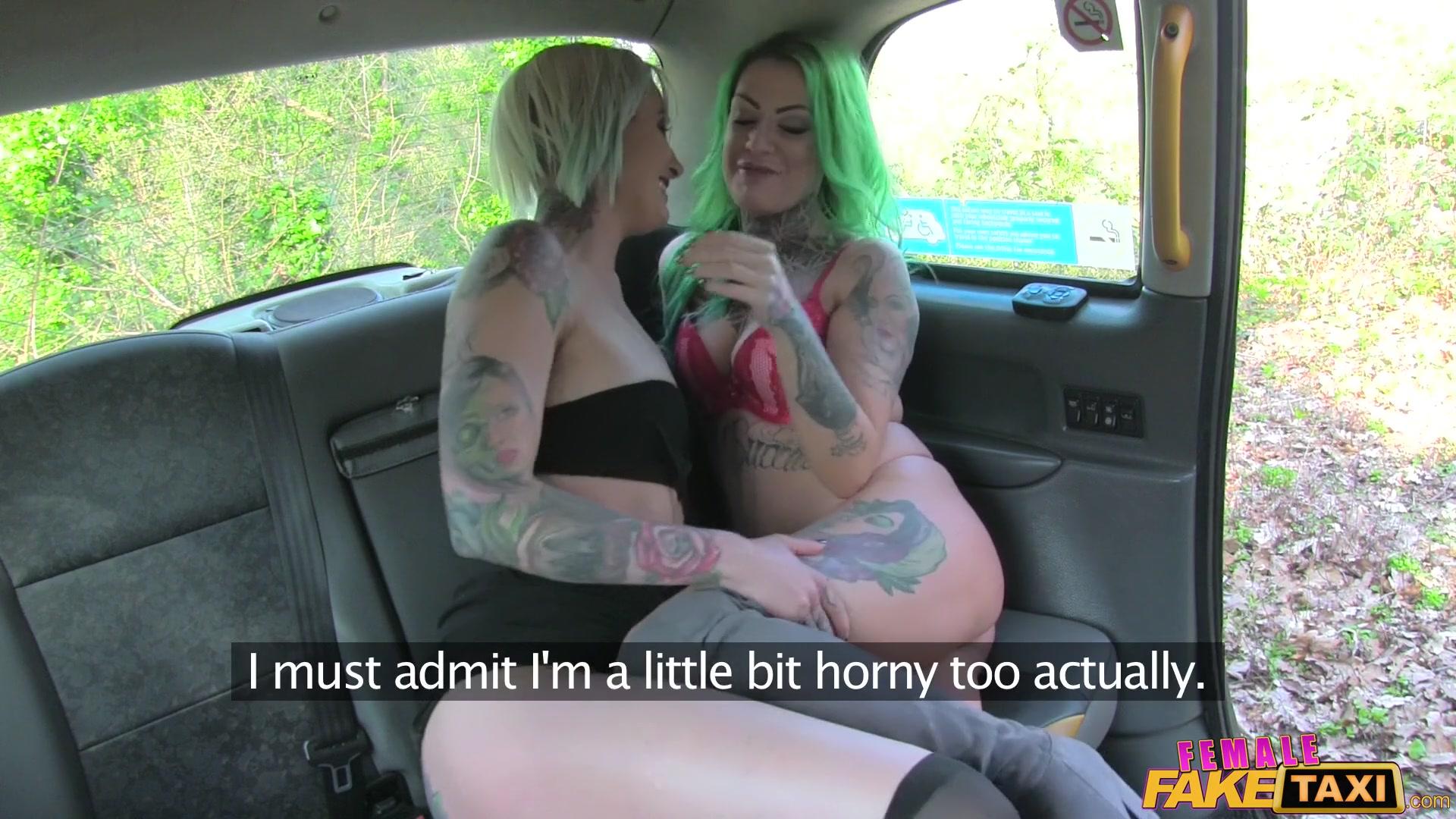 Fake Taxi Lesbian Redhead
